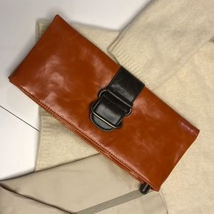 Shiraleah Faux Leather Clutch